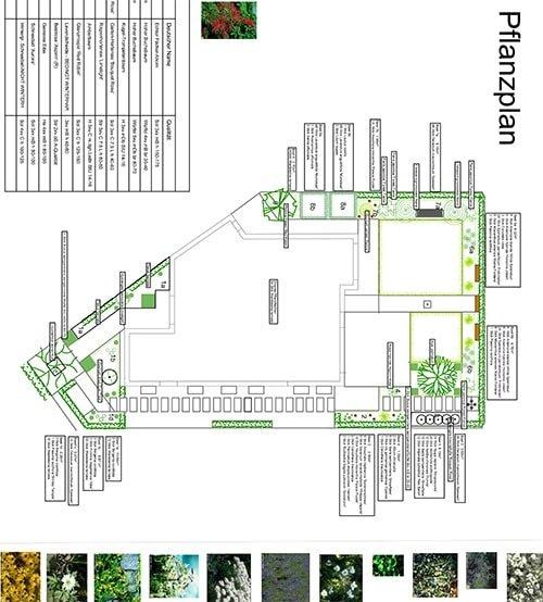 Pflanzenplan von Plan2Grün